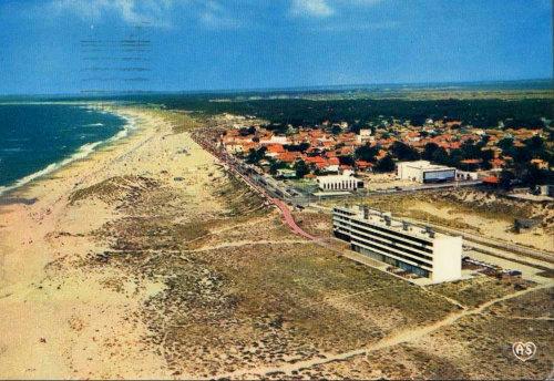 La résidence Le Signal, à Soulac-sur-Mer (Gironde), dans les années 1970