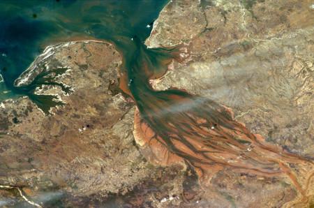 Estuaire du Betsiboka (Madagascar), 4 septembre 2003
