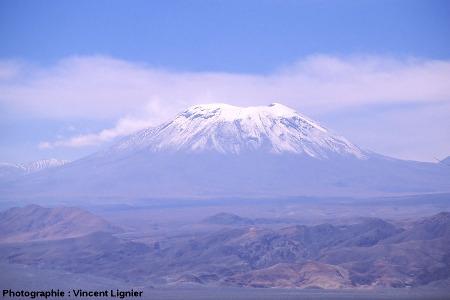 Le Lascar vu du Sud-Ouest, Chili