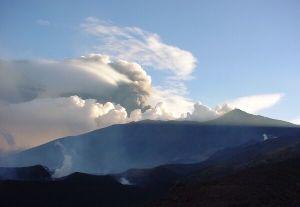 Éruption de l'Etna, dimanche 03 novembre 2002