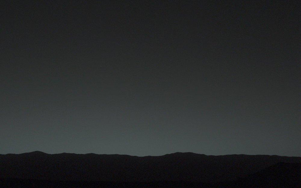 L'étoile du berger martienne, 31 janvier 2014