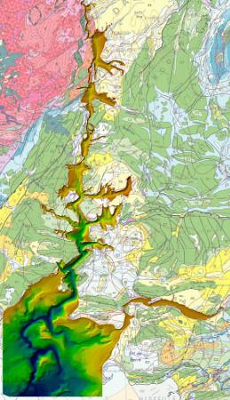 Restitution 3D du canyon messinien du Rhône
