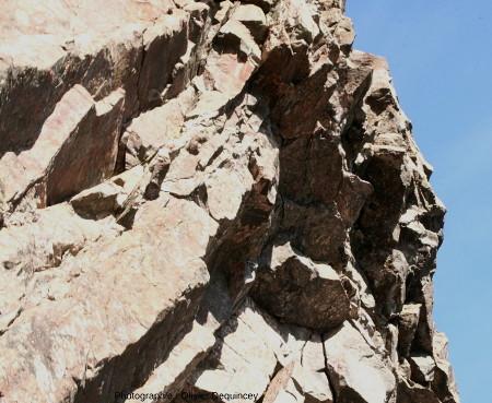 Sections basales des colonnes prismées du Rossberggesick