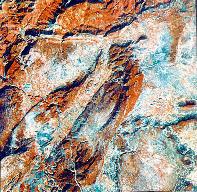 Photo Landsat du Bassin de Montoulieu.