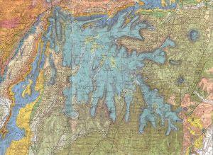 Carte géologique au 1/80.000, Privas