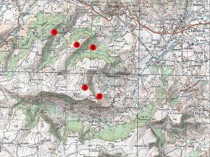 Reconnaissance topographique du plateau du Coiron.