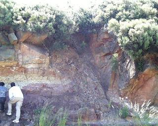 Dyke basaltique