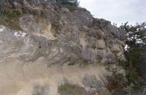 Niveau à stromatolithes en boules