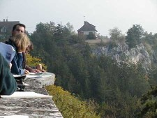 Depuis le château de Mailly-le-Château