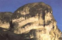 Détail d'un rocher