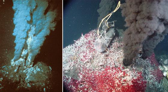 Deux fumeurs noirs quelque part le long des 60000km de dorsales océaniques