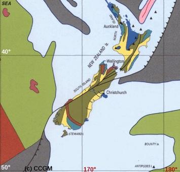 La faille alpine néo-zélandaise, relais transformant fosse-fosse