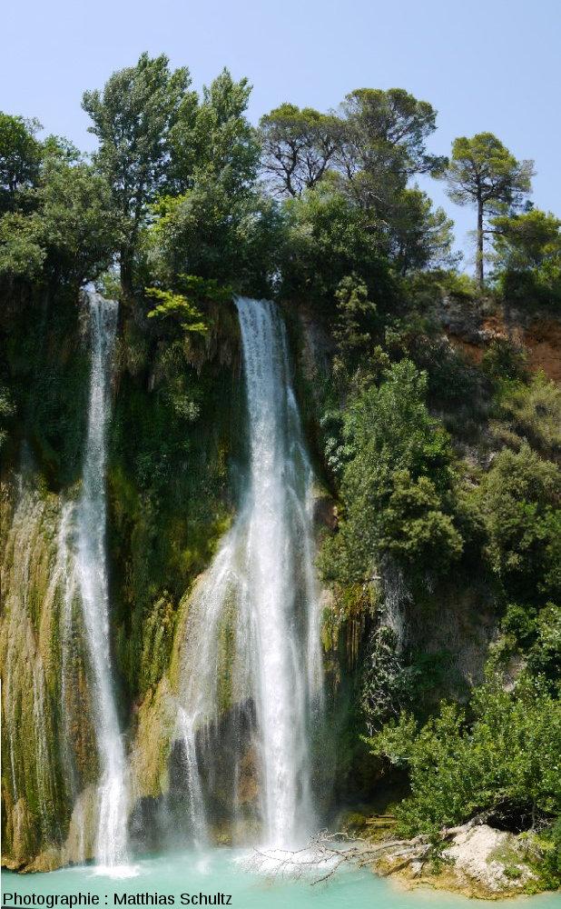 La cascade de tuf de Sillans, dans le Haut-Var