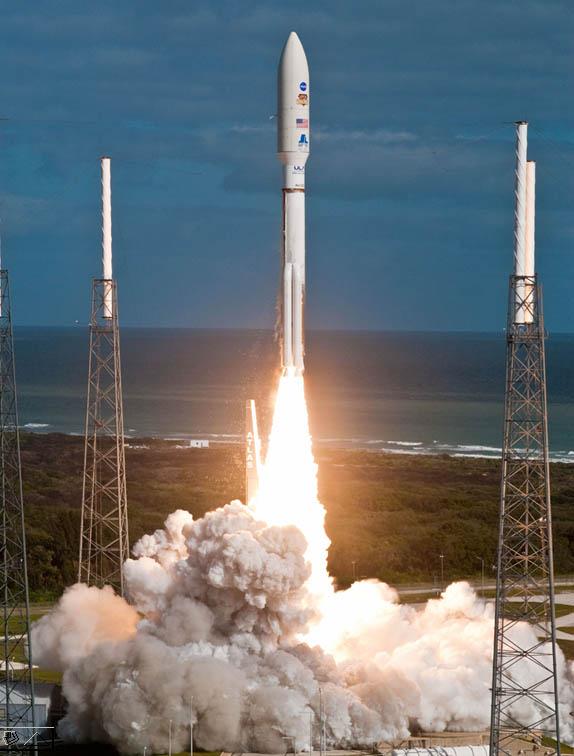 Départ de Curiosity vers Mars le 26 novembre 2011
