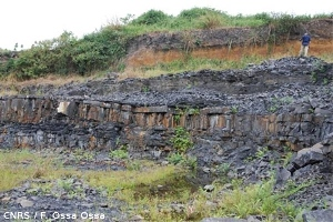 Site fossilifère gabonais du Paléoprotérozoïque, près de Franceville, Gabon