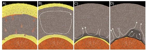 Scénario d'évolution du manteau profond dominée par la cristallisation d'un océan de magma