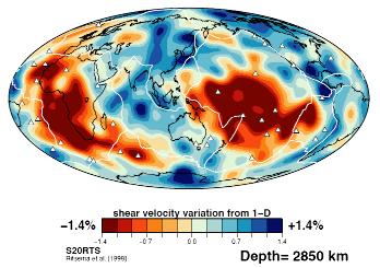 Observation de la couche D'' par tomographie sismique