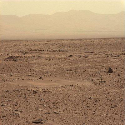 Paysage pris par la caméra panoramique du mât le sol 51 (27 septembre 2012)