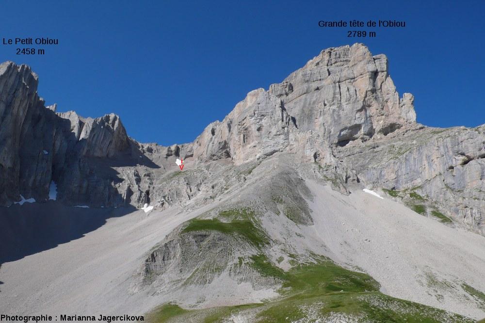 La Grande Tête de l'Obiou (2789m, massif du Dévoluy, Hautes-Alpes