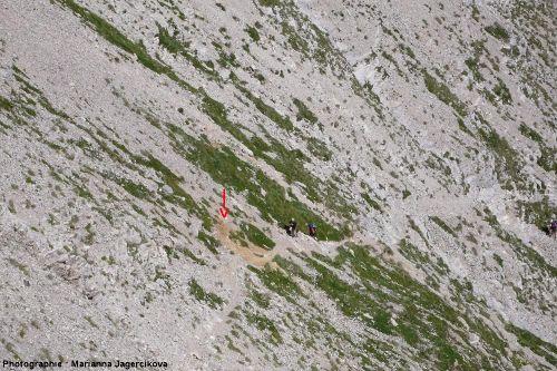 Sur le chemin de la Grande Tête de l'Obiou, massif du Dévoluy, Hautes-Alpes