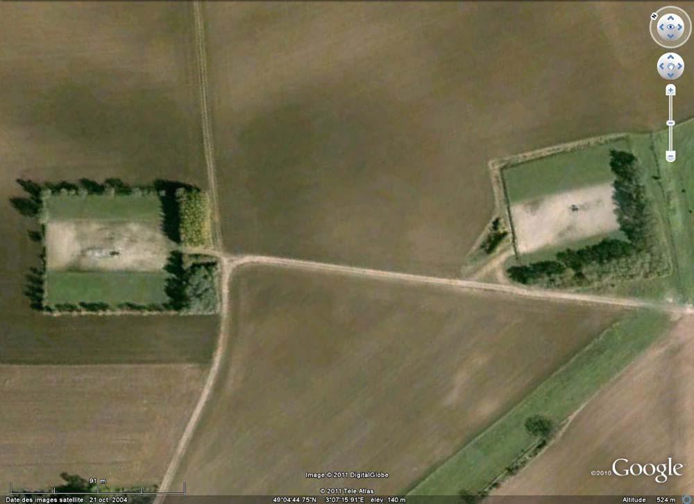 Le stockage souterrain de gaz de Crouy sur Ourcq (Seine et Marne), gros plan sur une zone d'exploitation