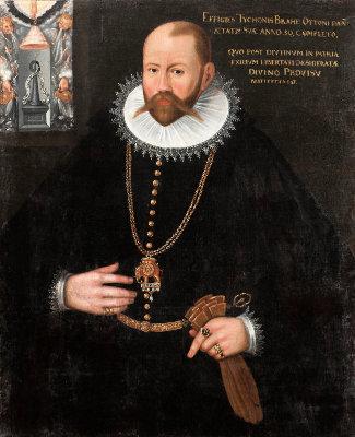 Portrait de Tycho Brahé (1546-1601)