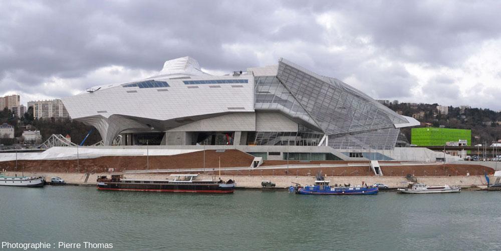 Le Musée des Confluences de Lyon, en janvier 2015