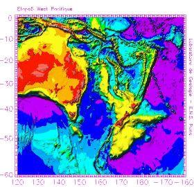 Zone de subduction, bordure Ouest-Pacifique, Fosse de Tonga