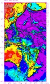 Zone de subduction, bordure Ouest du Pacifique