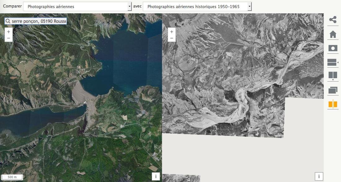 Impact de l'aménagement du barrage de Serre-Ponçon dans les années 1950 sur la vallée de la Durance