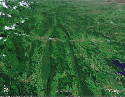 L'anticlinal de Lavelanet (Ariège)
