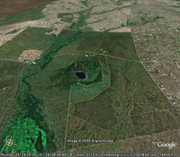 Tswaing (Pretoria Saltpan) (Afrique du Sud)