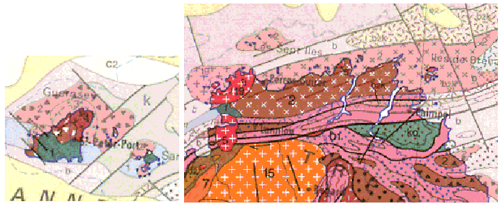 Plutonisme d'arc de la chaîne cadomienne (fin du Précambrien)