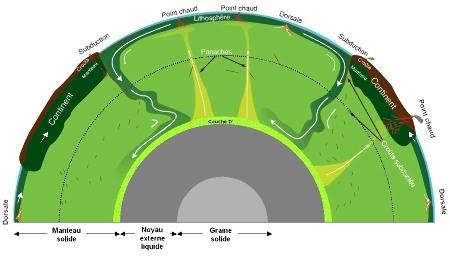 Une vision moderne de la convection mantellique