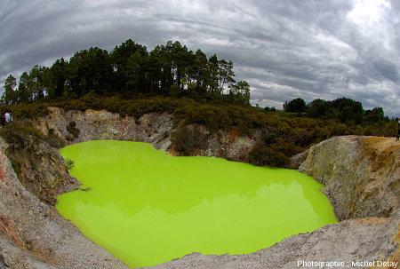 Le Devil Bath, Nouvelle Zélande