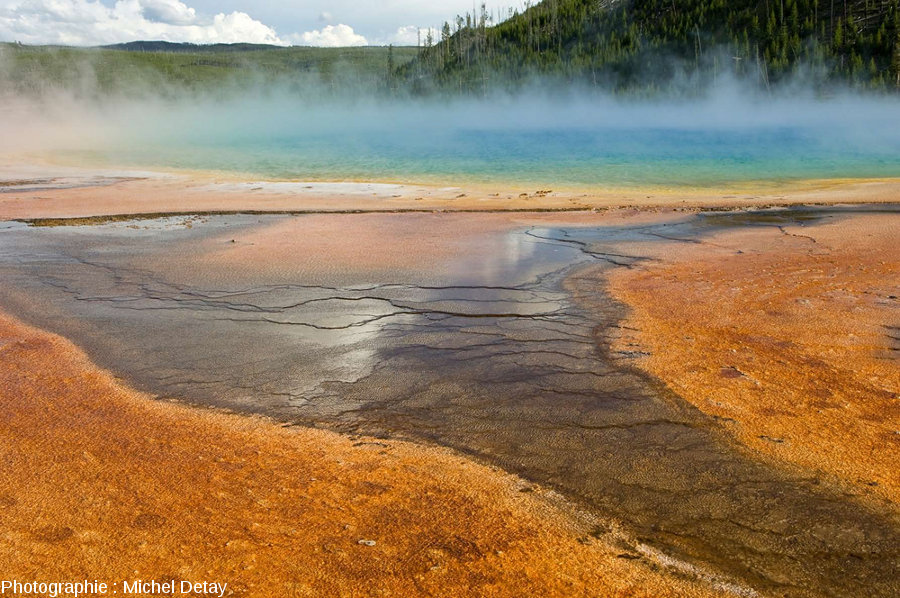 Grand Prismatic Spring, Parc National de Yellowstone, États-Unis