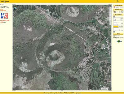 Photographie aérienne du Puy Pariou