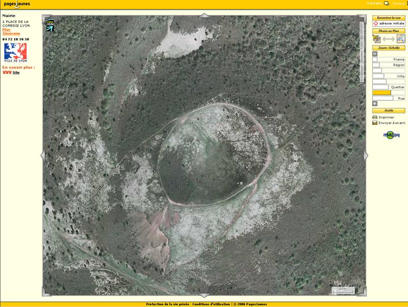 Photographie aérienne de Puy Pariou