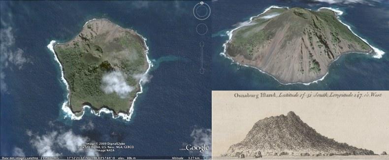 L'île de Mehetia, la plus jeune île de l'archipel de la Société