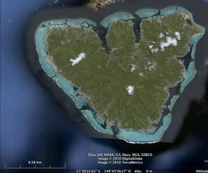 L'atoll de Moorea