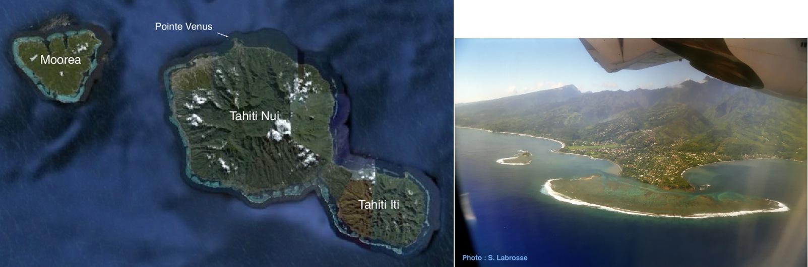 Tahiti et Moorea