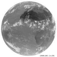 Image satellite IR du 01/07/1998 14h30