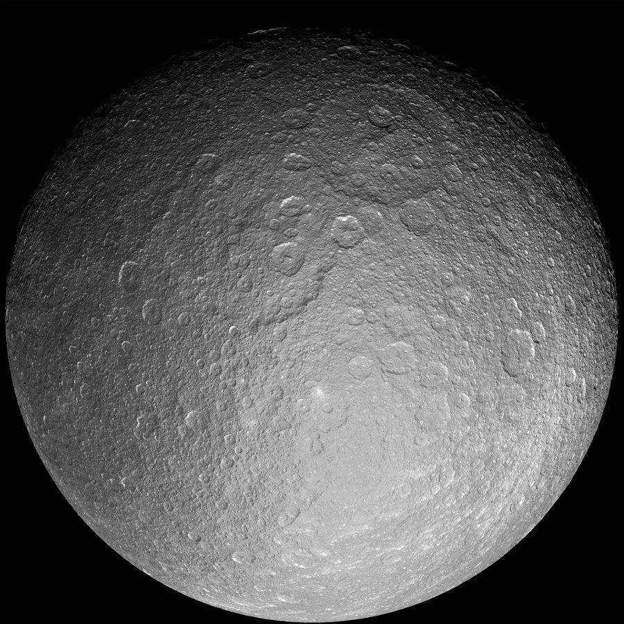 Rhéa, satellite de Saturne