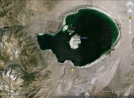 Le lac Mono (Californie)