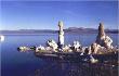 Les mêmes tufas du lac Mono, en 1968