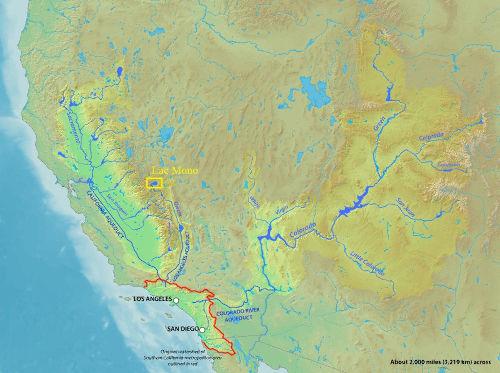 Alimentation en eau de l'agglomération de Los Angeles (zone métropolitaine de Californie du Sud)