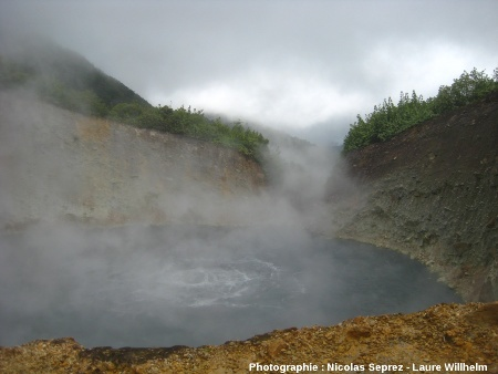 Le Boiling Lake, Dominique (Antilles)