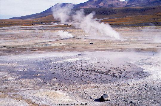 Champ hydrothermal du Tatio, Chili