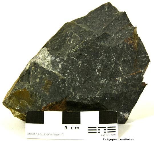 Basalte spilitique tholéiitique de Schirmeck