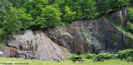 Kératophyre de Schirmeck (carrière de Schirmeck- Walchenbach)
